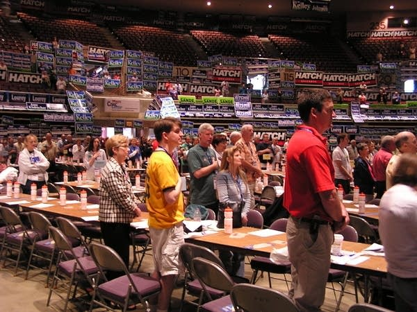 DFL convention opens