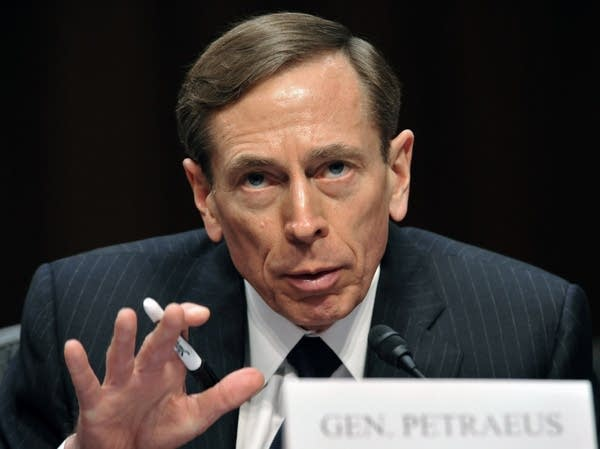CIA Director David Petraeus, testifies b