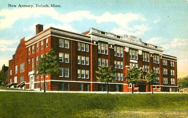 Duluth Armory, 1920
