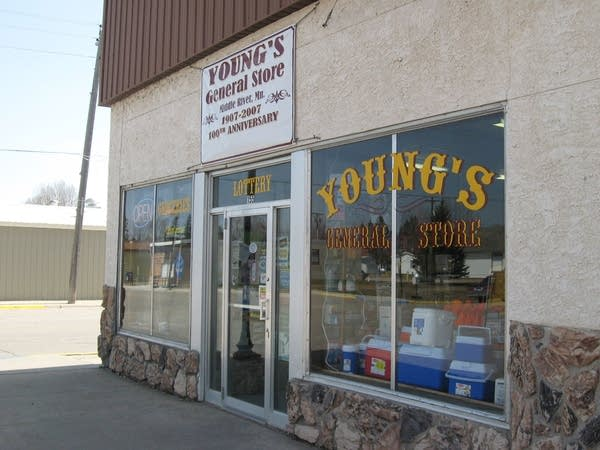 Young's storefront