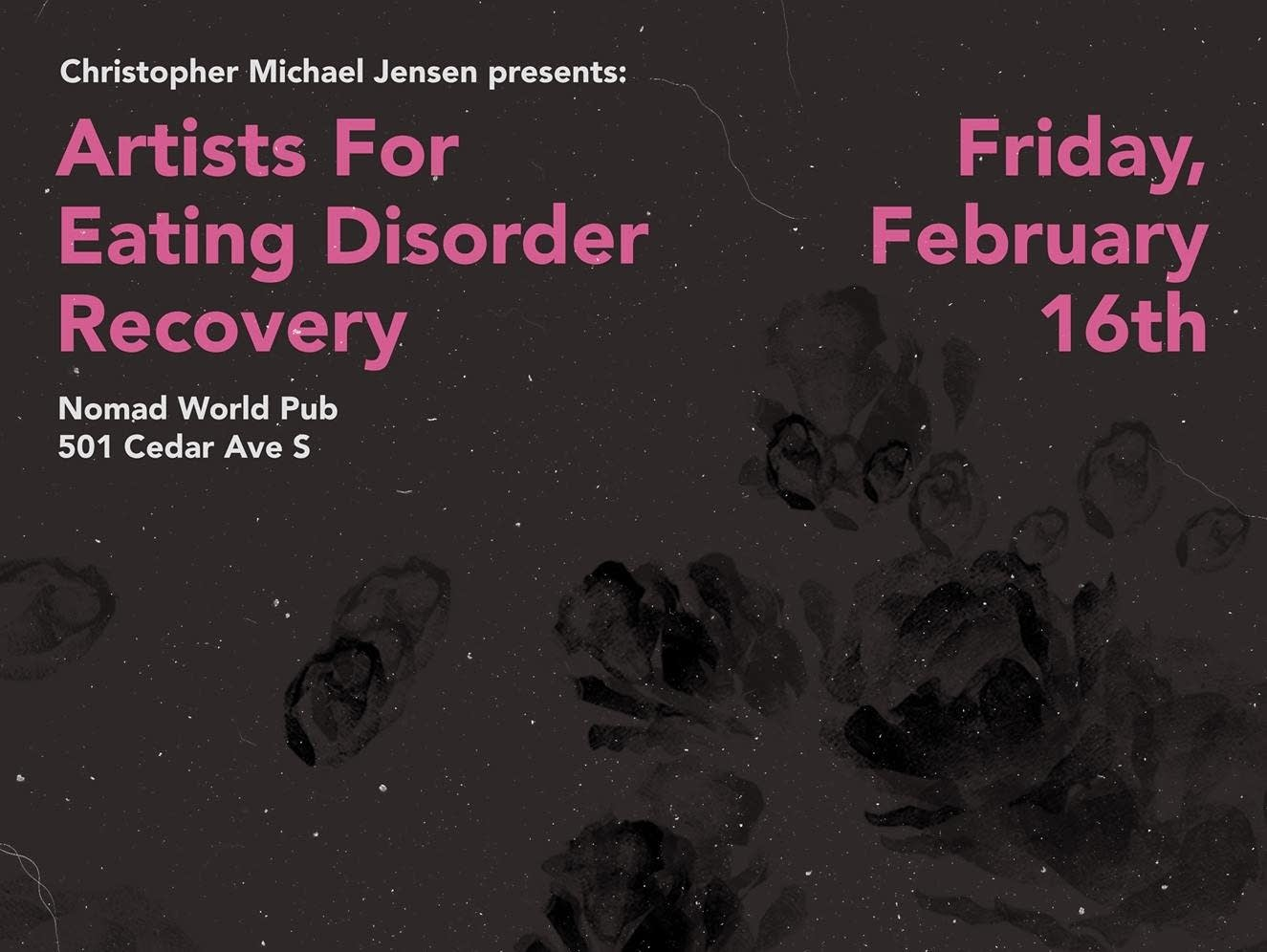 Artists for Eating Disorder Recovery poster