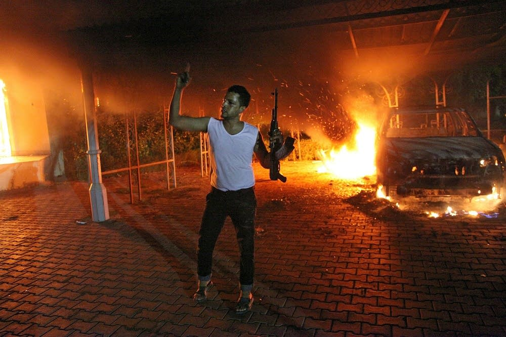 US consulate attacked in Benghazi