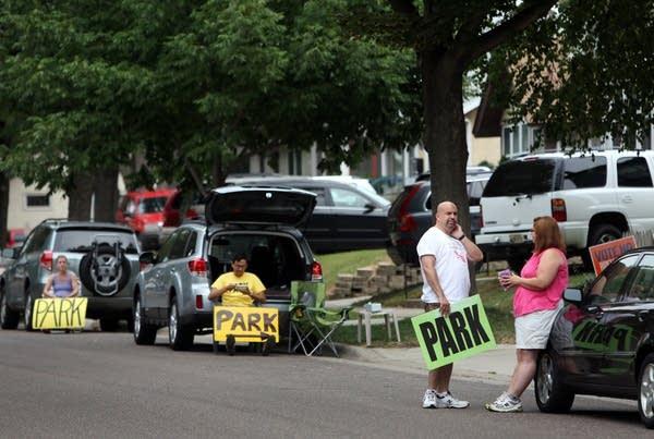 Selling parking spots