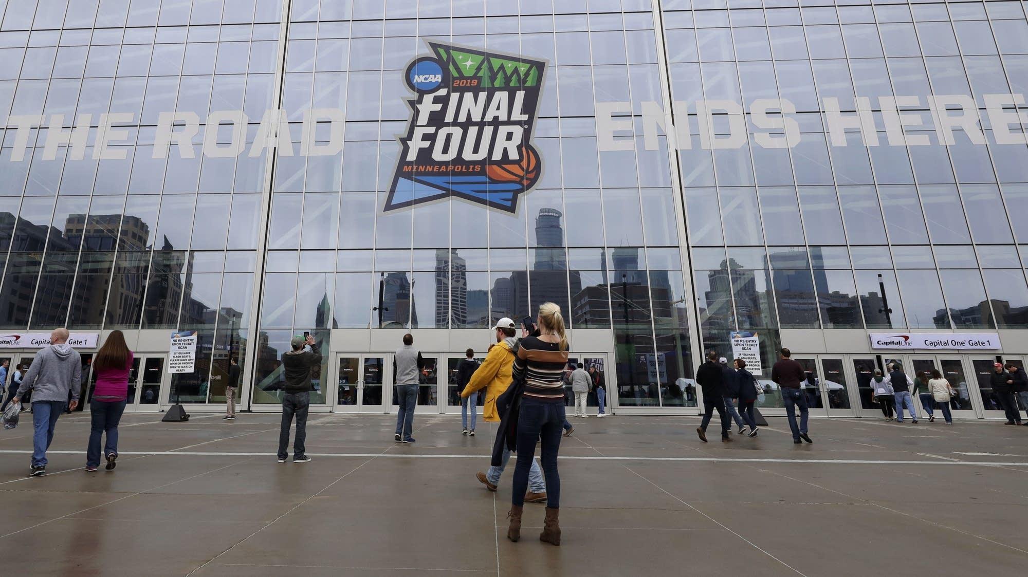 Final Four at U.S. Bank Stadium in Minneapolis