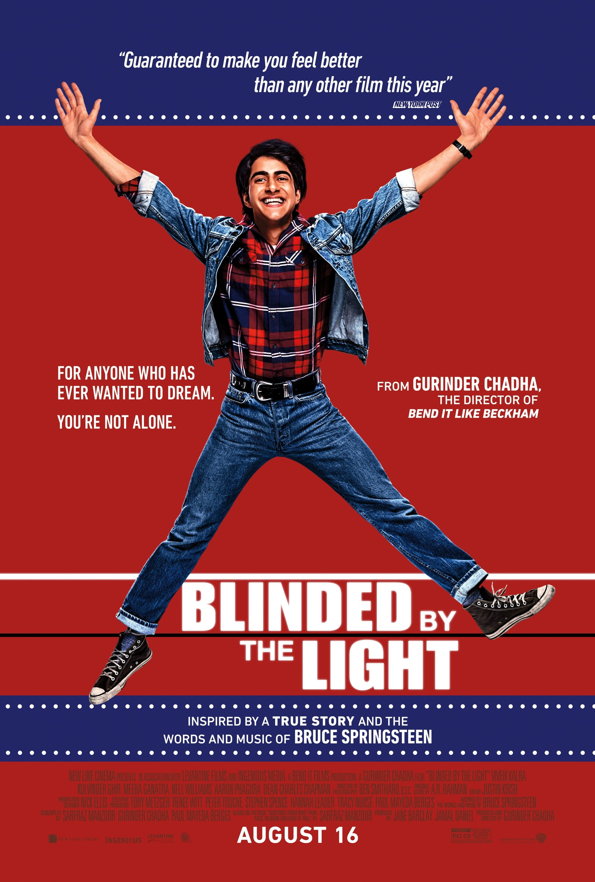 'Blinded by the Light' directed by Gurinder Chadha