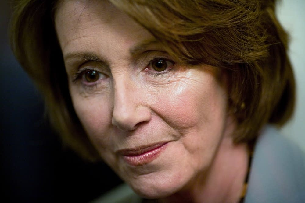 Speaker of the House Nancy Pelosi, D-Calif.
