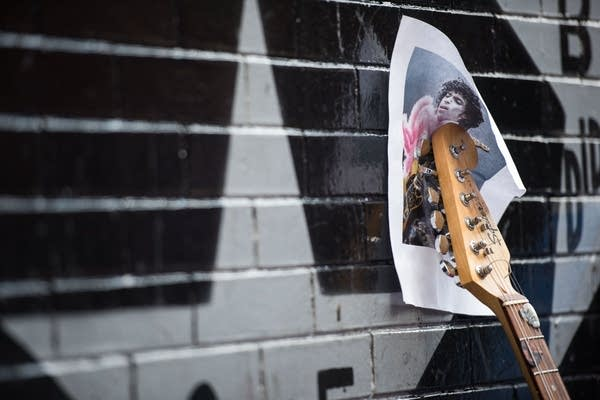 A guitar for Prince.