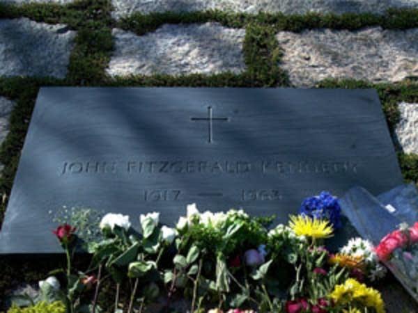 JFK's grave