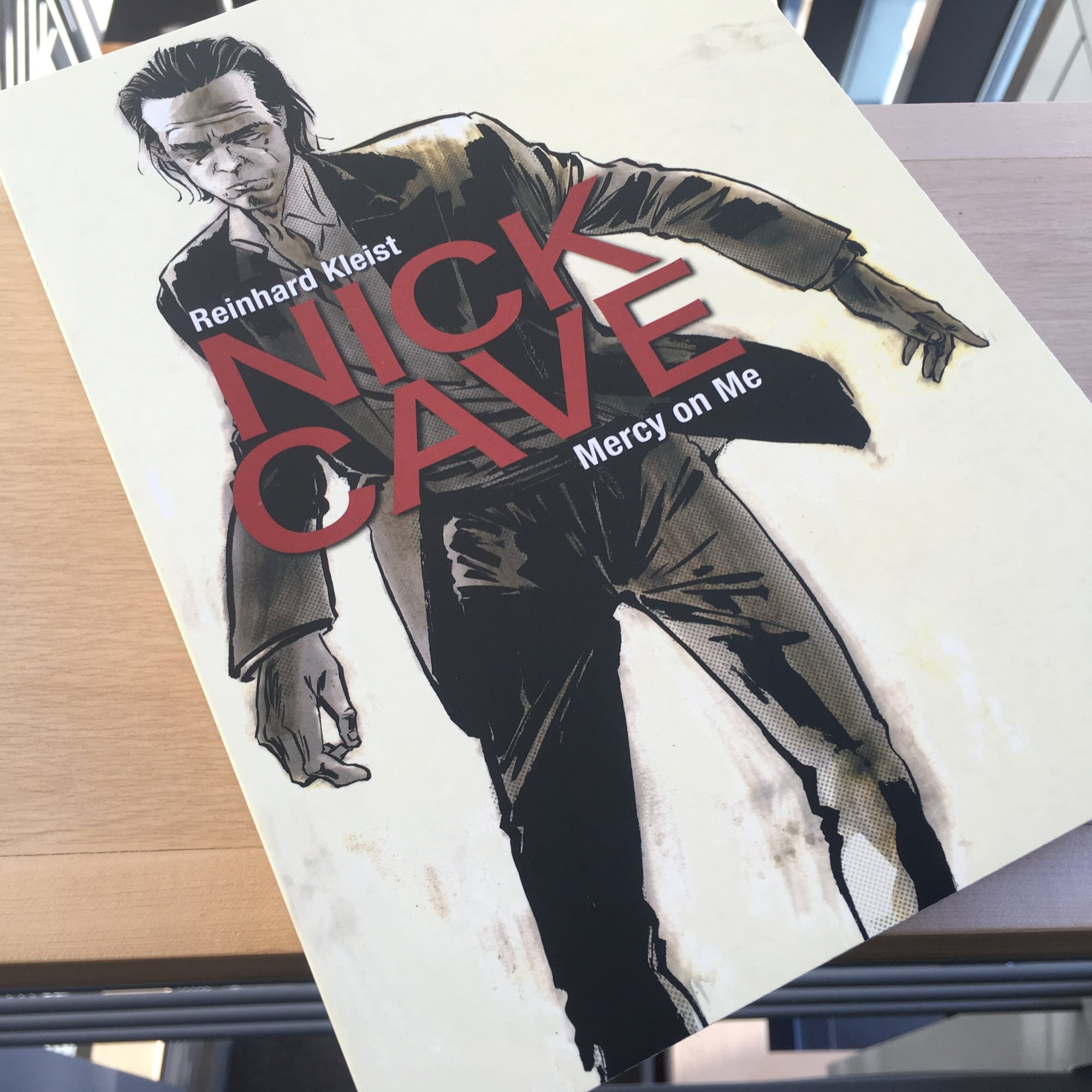 Reinhard Kleist's 'Nick Cave: Mercy On Me.'
