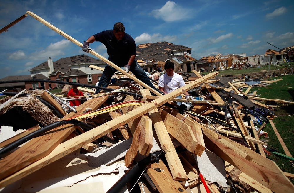 Multiple Tornadoes Touch Down In Dallas-Fort Worth