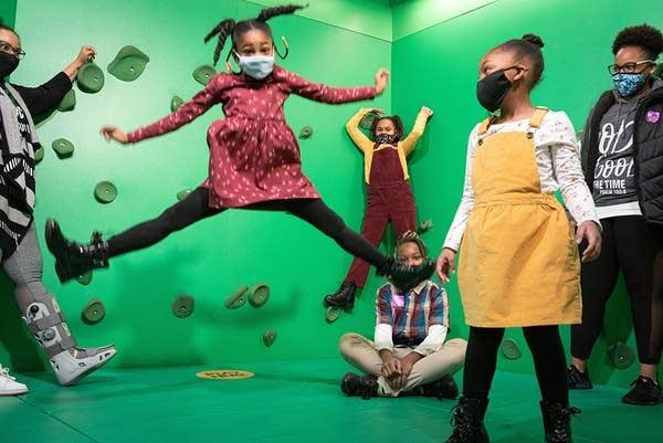 Children enjoy their time at the Minnesota Children's Museum.
