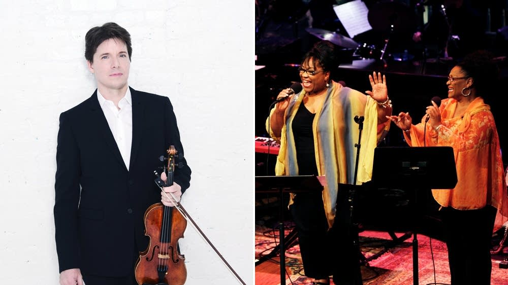 Joshua Bell, Jearlyn and Jevetta Steele