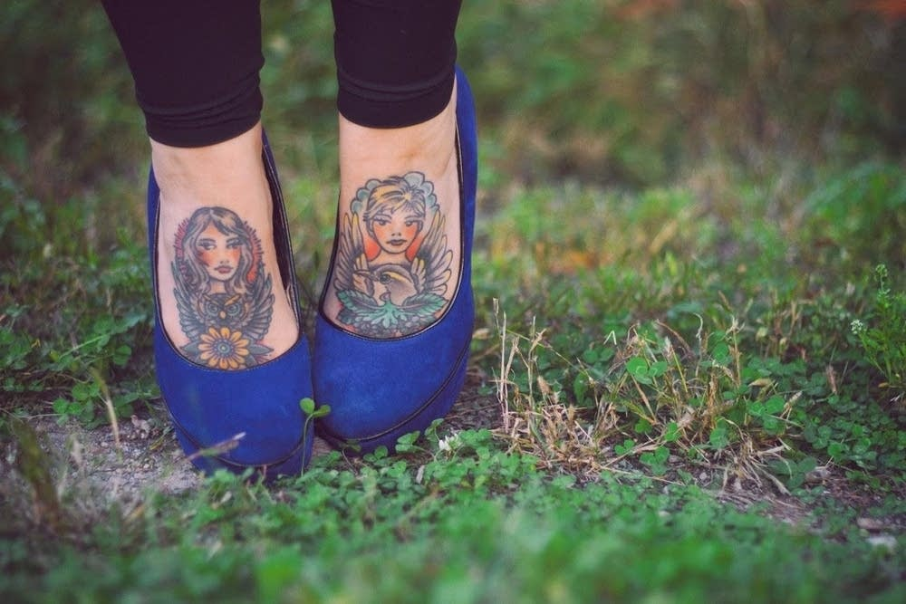 tattoos by Joshua Palmer on Emilie Robinson