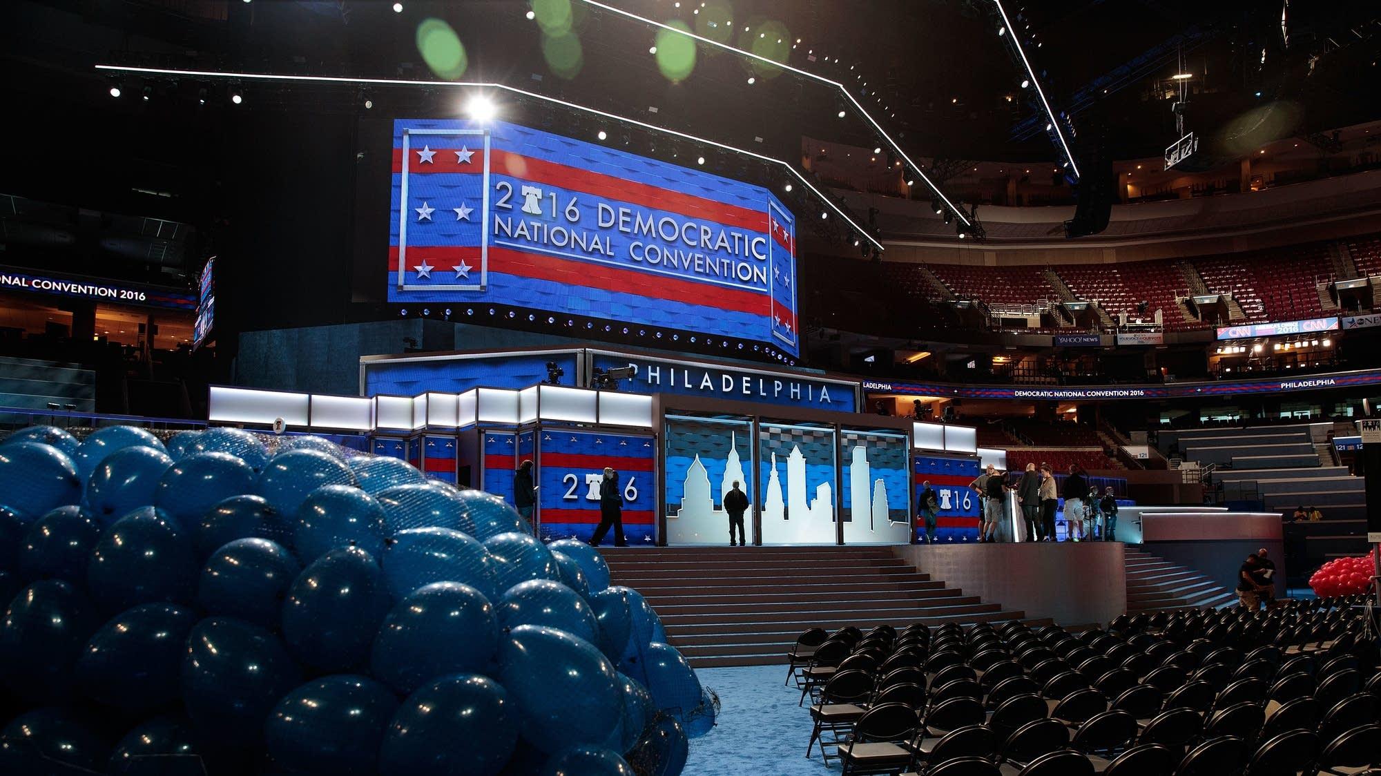 Philadelphia prepares to host DNC.