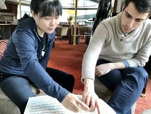Composer Wang Jie and cellist Timotheos Petrin discuss composition