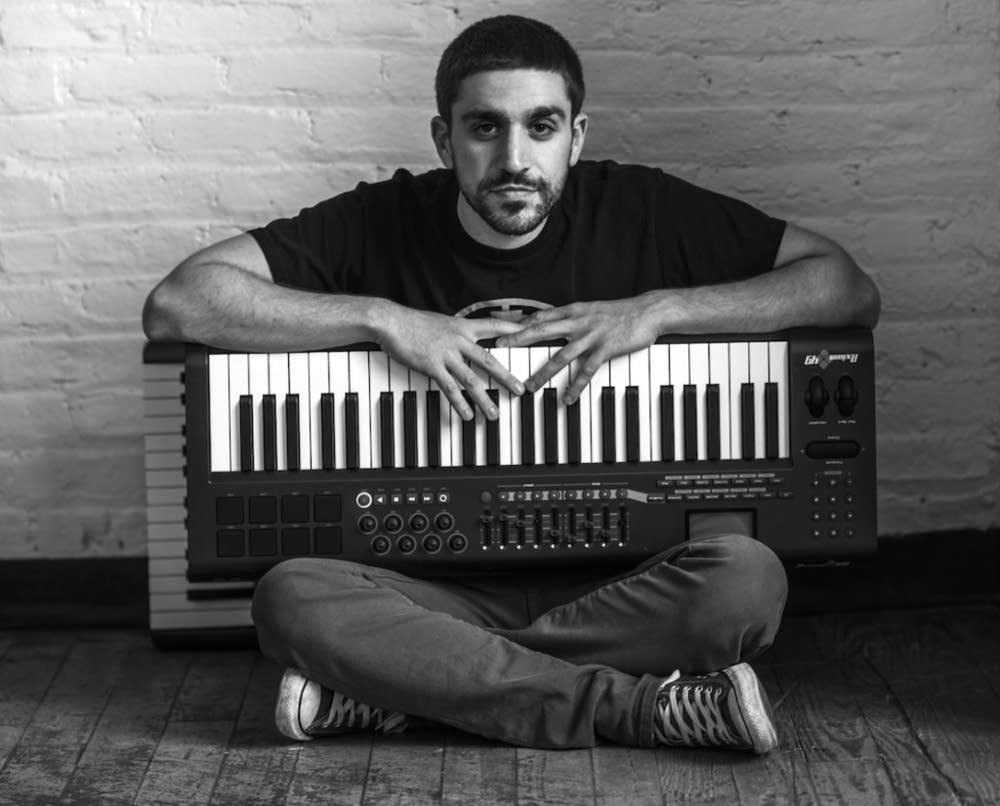 Composer Marios Aristopoulos
