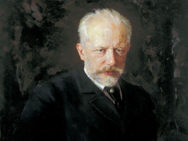 Portrait of Tchaikovsky