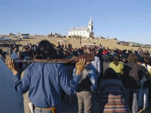Indian Reservation  AIM  Wounded Knee South Dakota