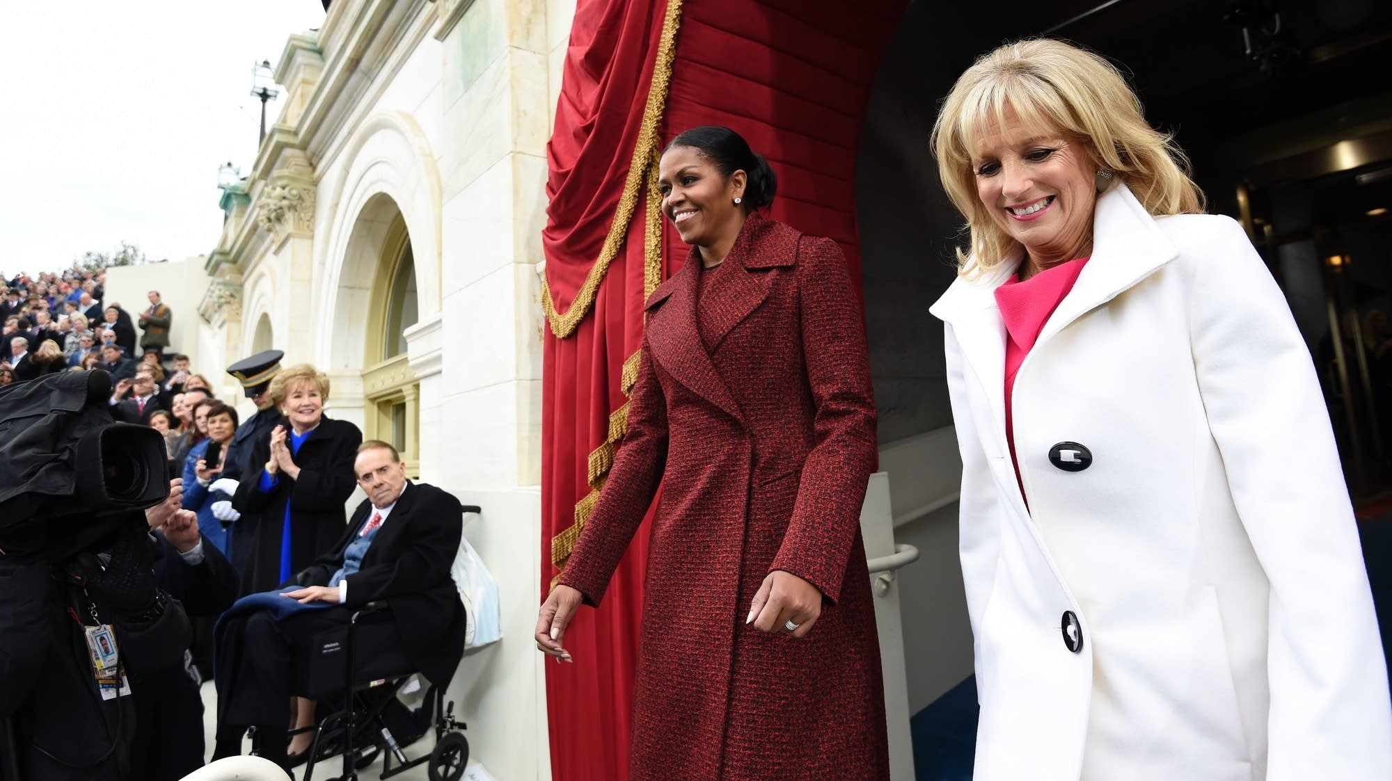 First Lady Michelle Obama and Dr. Jill Biden