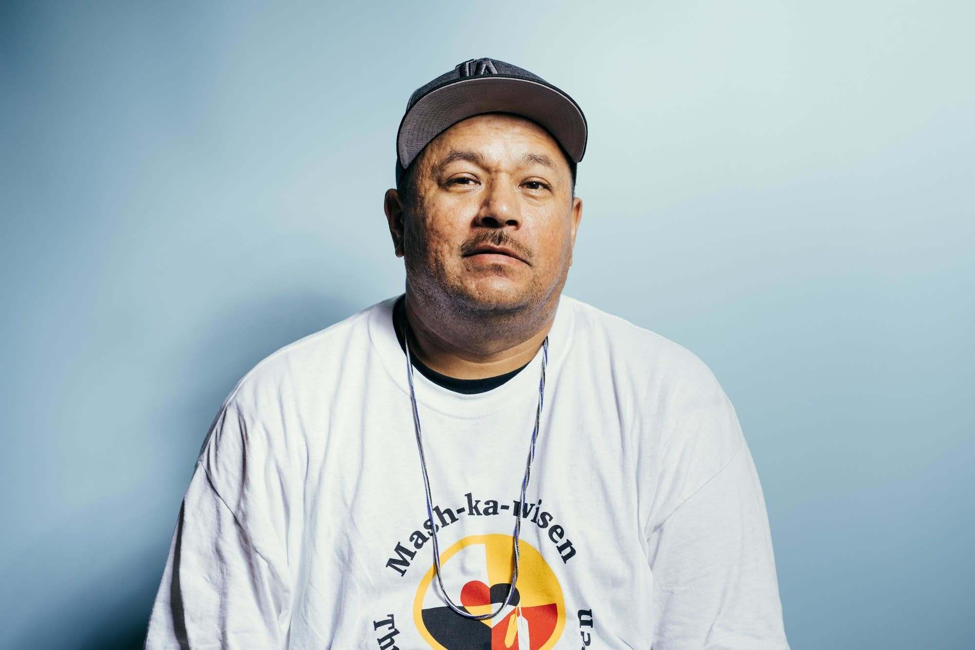 James Fisher of the Leech Lake Band of Ojibwe