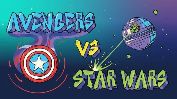 Smash Boom Best: Avengers vs. Star Wars