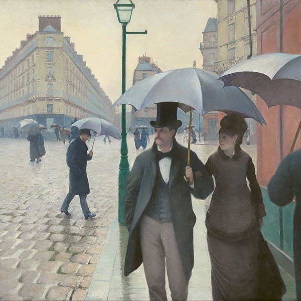 Gustave Caillebotte - Paris Street; Rainy Day