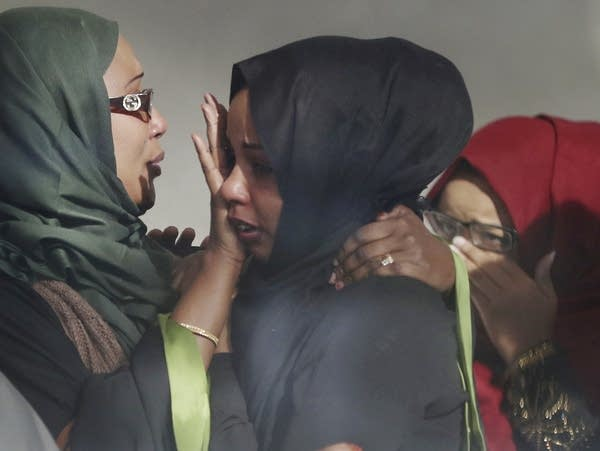 Friends and family react to Musse sentence.