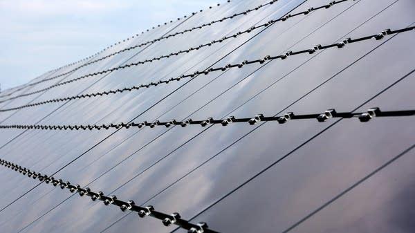 Camp Ripley's solar panels