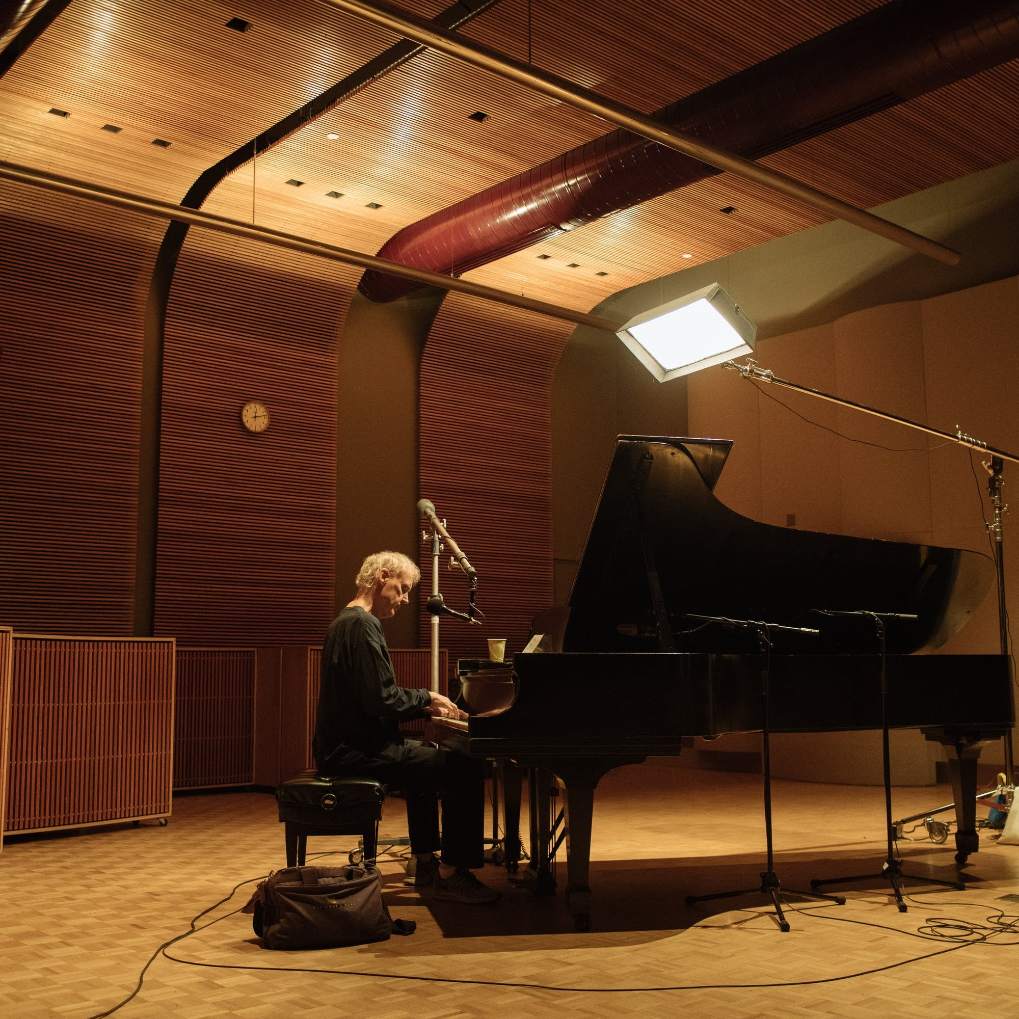 Bruce Hornsby performs in The Current studio
