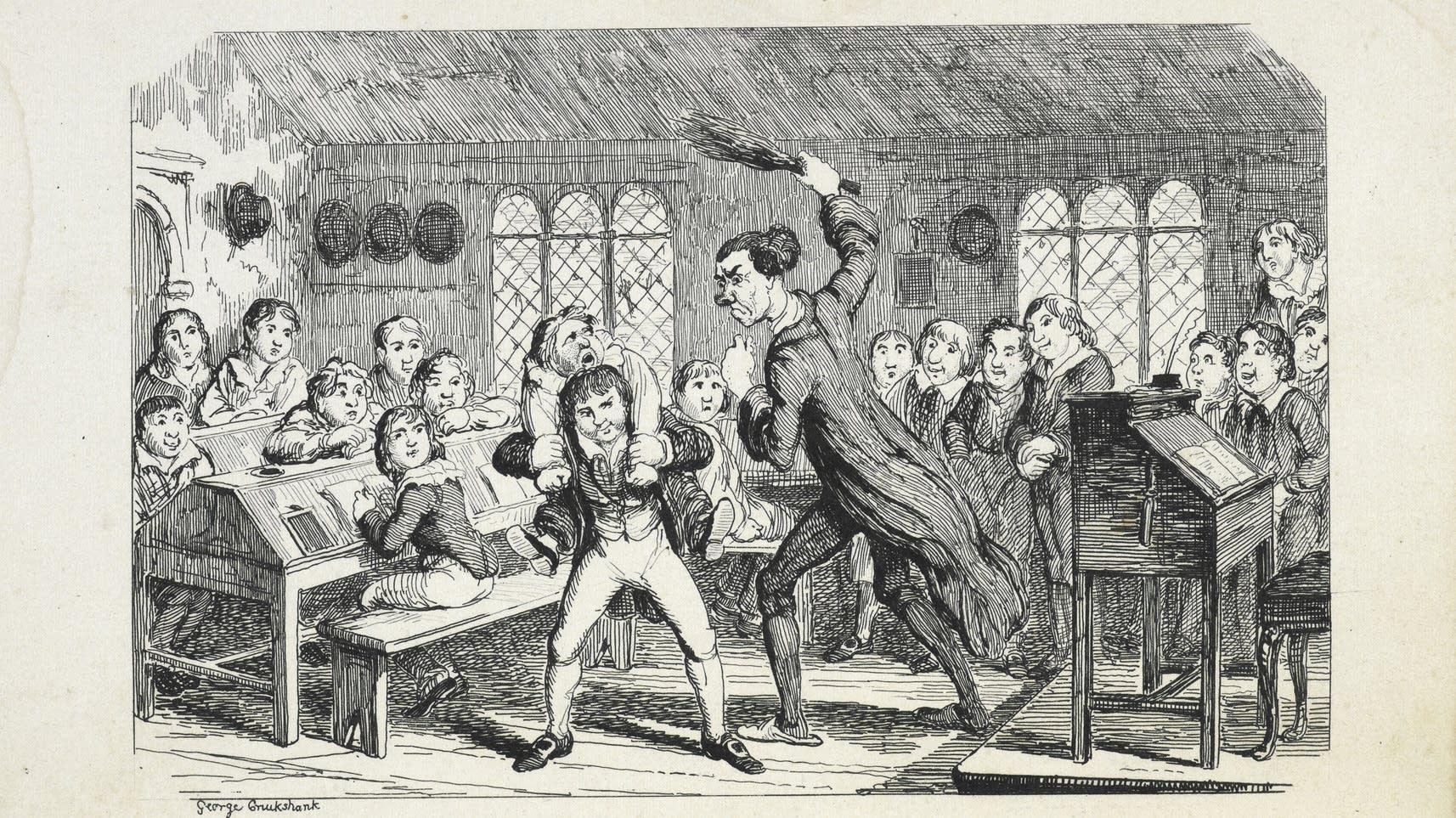 Caricature by George Cruikshank