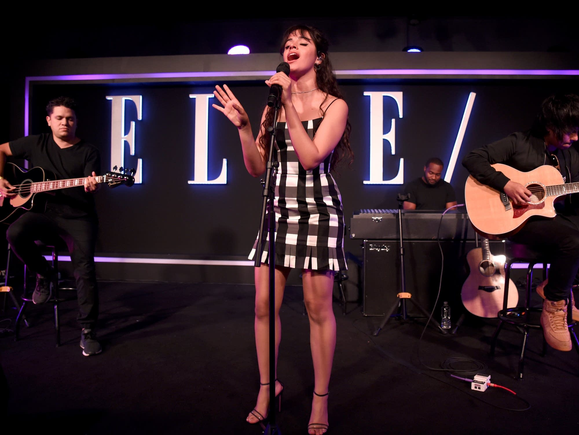 Camila Cabello performs at ELLE, Women in Music by Spotify