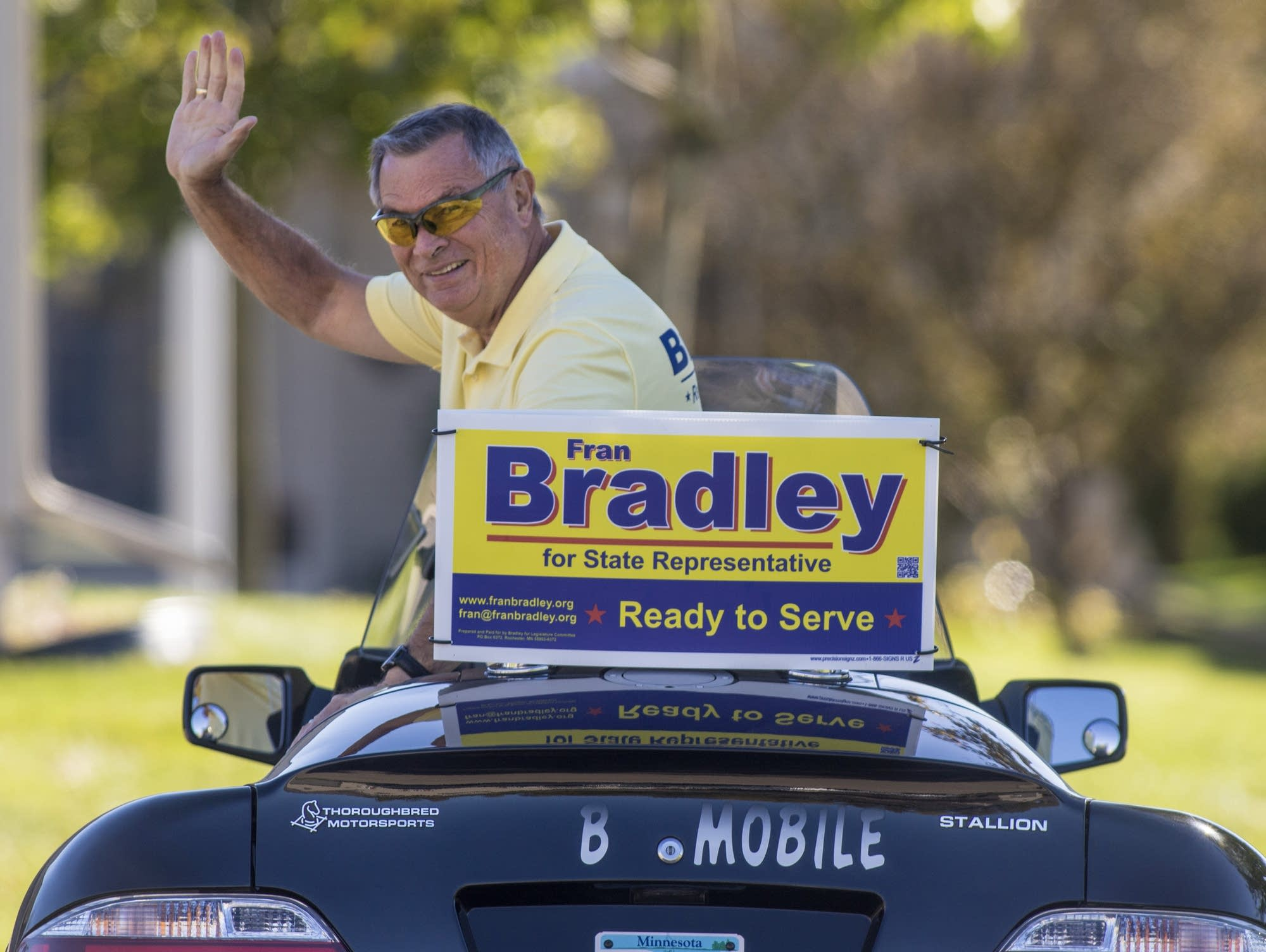 Candidate Fran Bradley