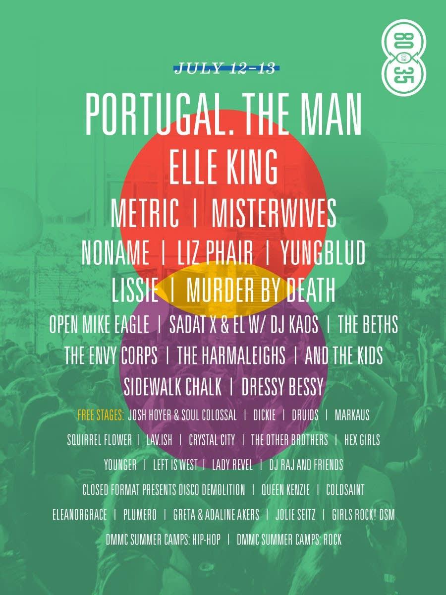 80/35 Festival Flyer