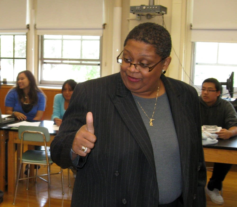 Superintendent Bernadeia Johnson