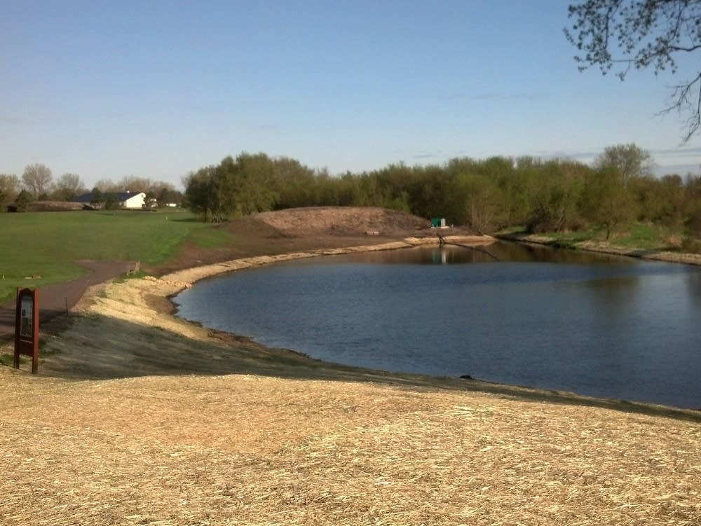 18th tee after construction