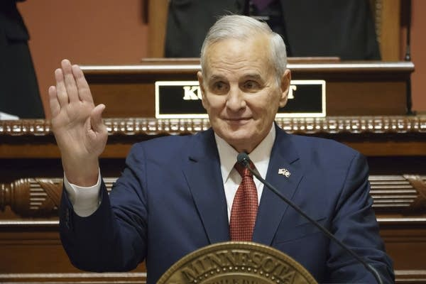 Gov.Mark Dayton delivers his final annual State of the State Address