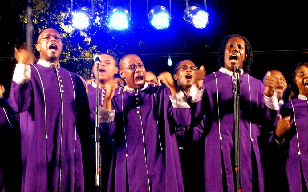 St James UMBC choir