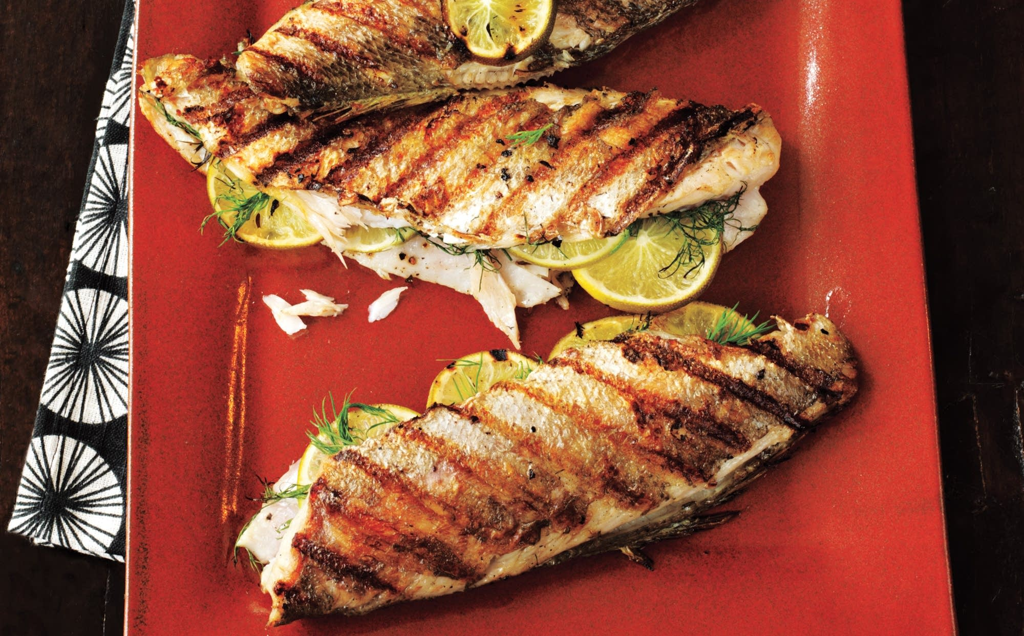 Grilled Trout The Splendid Table