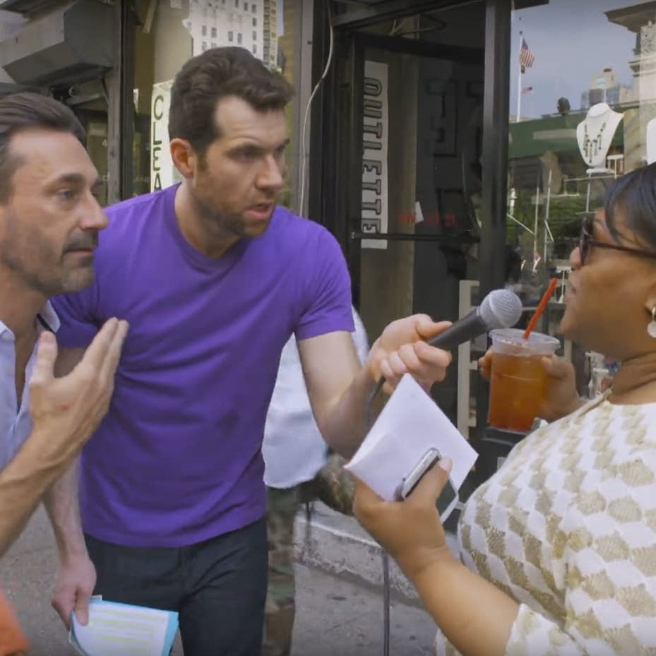 Billy on the Street: Threesome with John Hamm