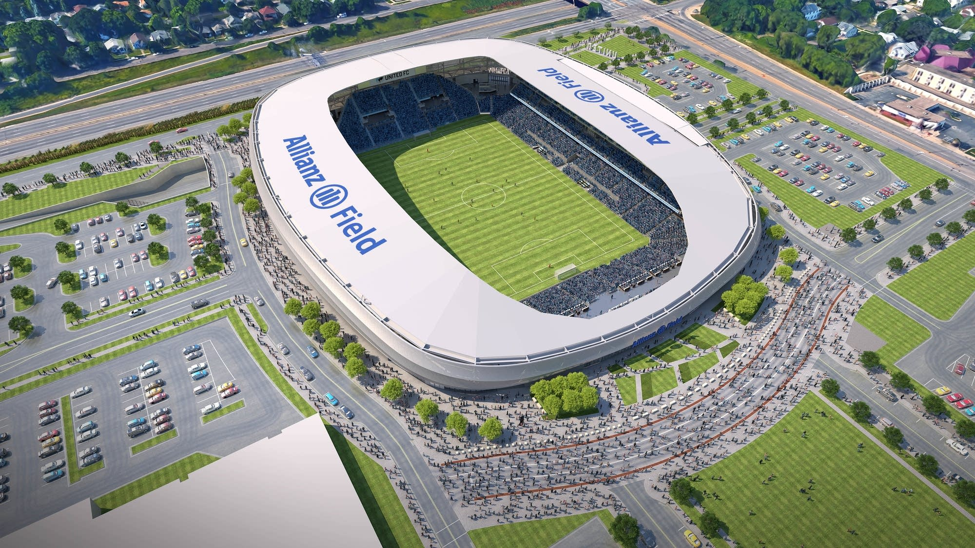 Minnesota United reaches stadium naming rights deal with Allianz