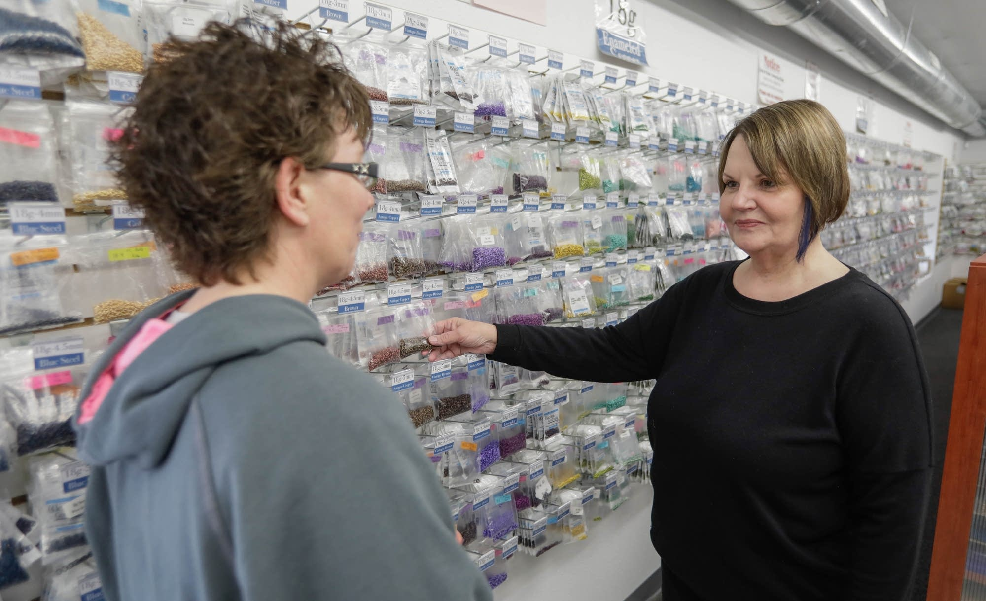 Edie Ramstad now has customers in almost 80 countries.