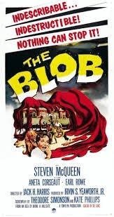 The Blob movie poster from 1958