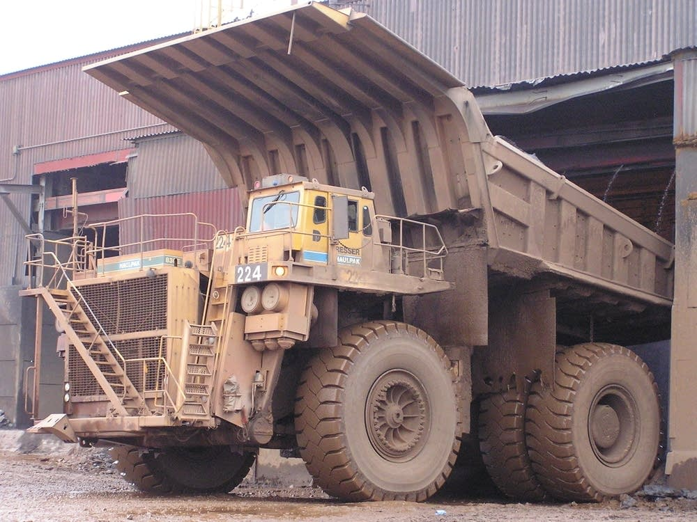 The crusher, Hibbing Taconite