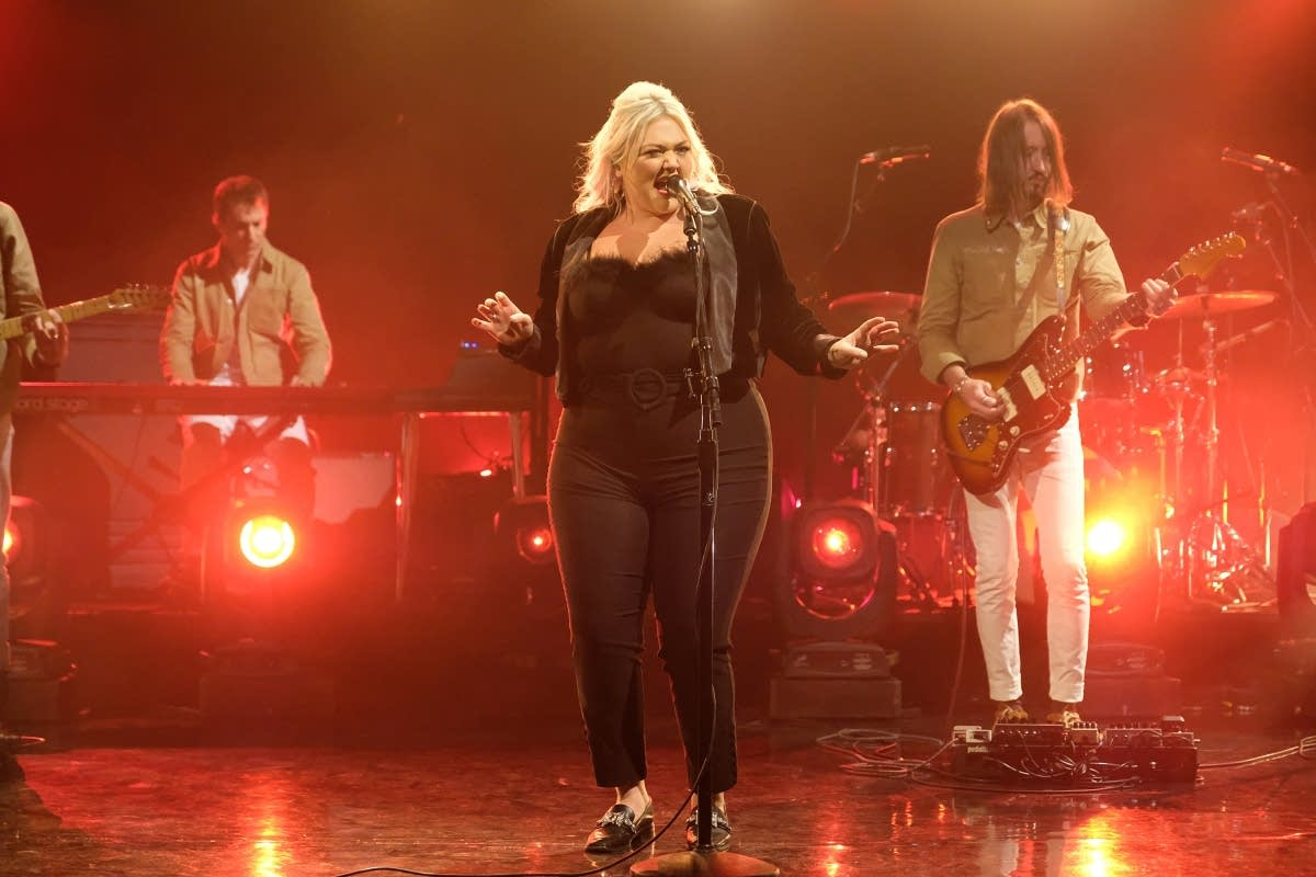 Elle King on 'The Late Late Show with James Corden'
