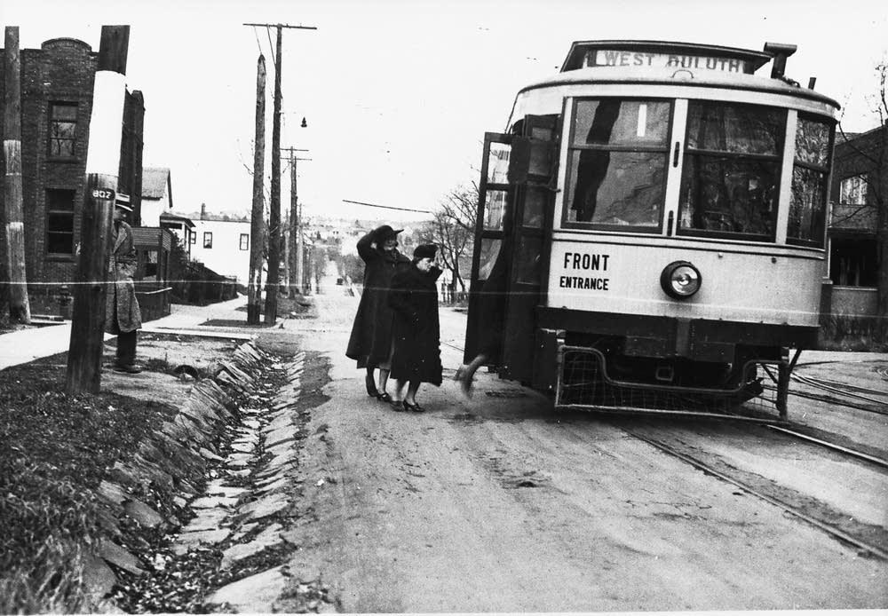 Duluth streetcar