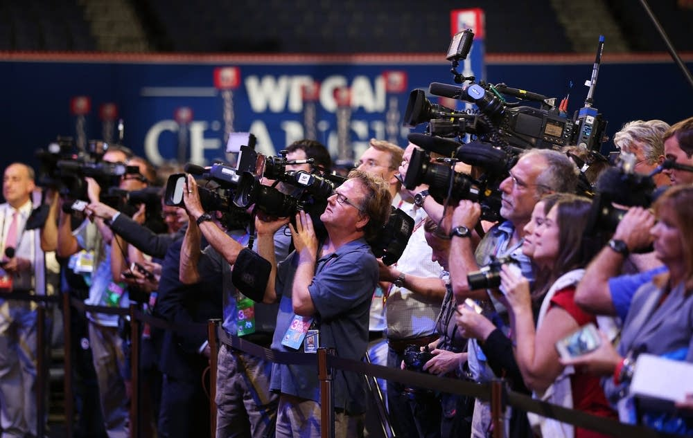 Cameras at the RNC