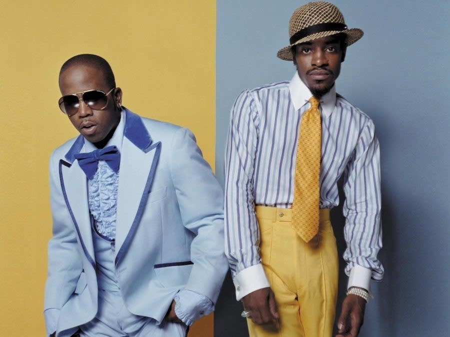 Big Boi, left, and Andre 3000 of Outkast