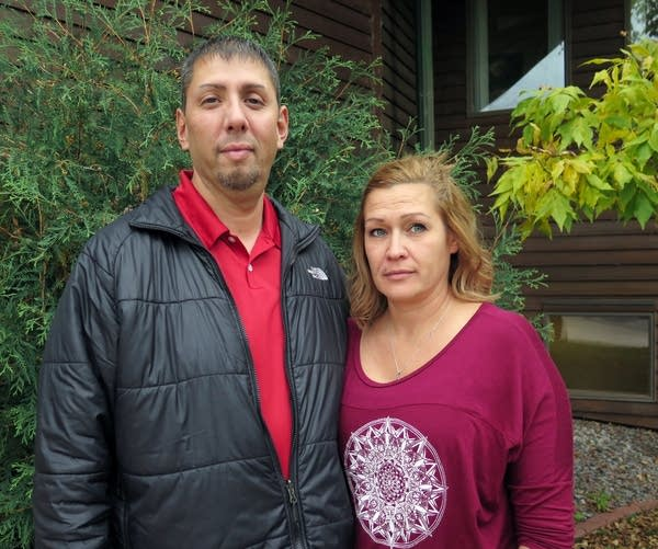 Pete Nayquonabe, a Mille Lacs Band member, and his wife, Shannon Nayquonabe