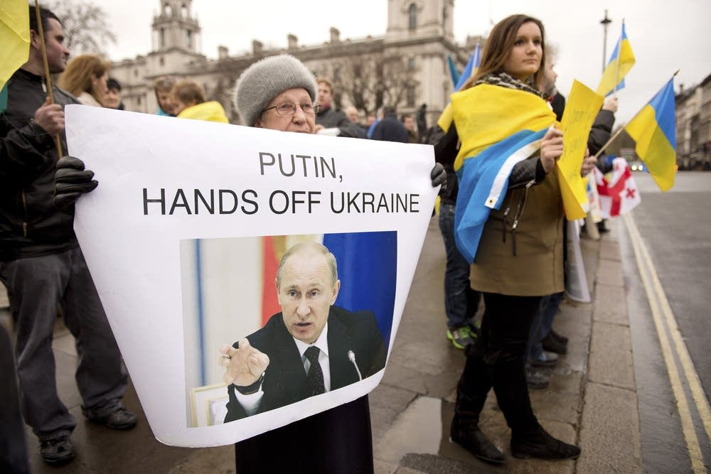 Ukraine unrest in UK