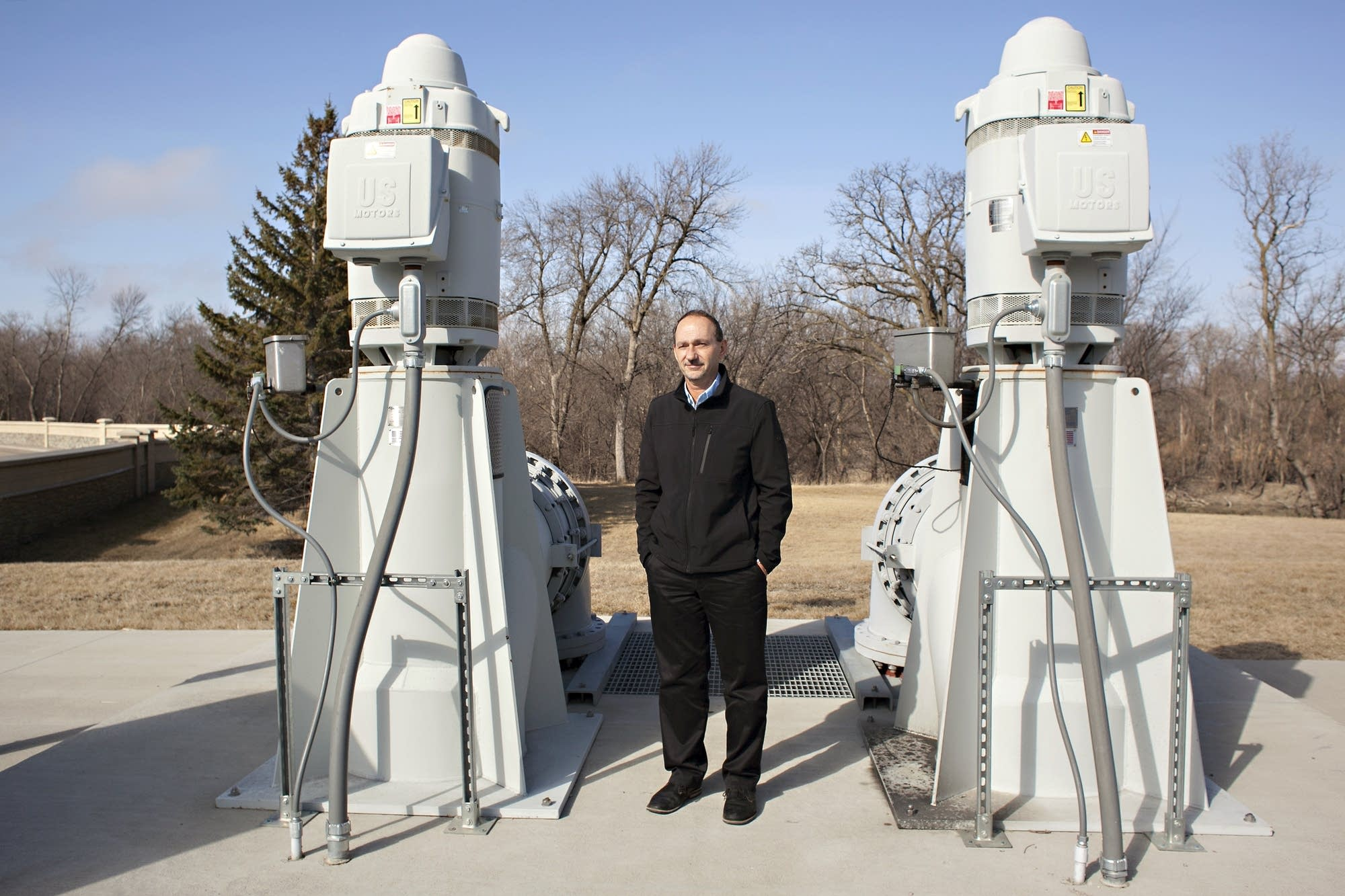 Moorhead City Engineer Bob Zimmerman